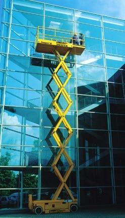 Plataforma de tijera Haulotte 12 metros
