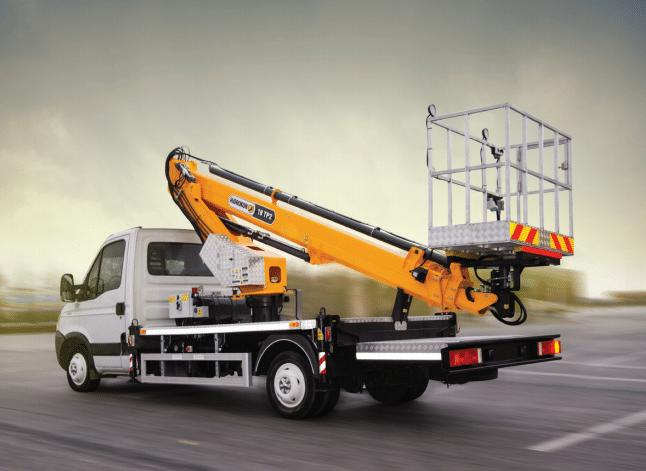 Plataforma sobre camión de 18 metros de altura, en venta, nuevo